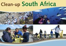 September is Clean - up South Africa month