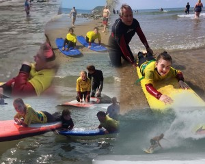 Surfing enjoyed by everybody