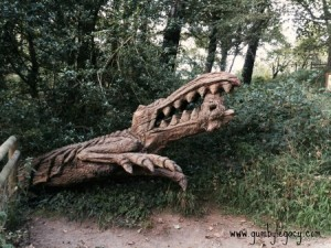 Crocodile at Margam - Copy