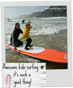 Awesome kids surfing – it's such a good thing!
