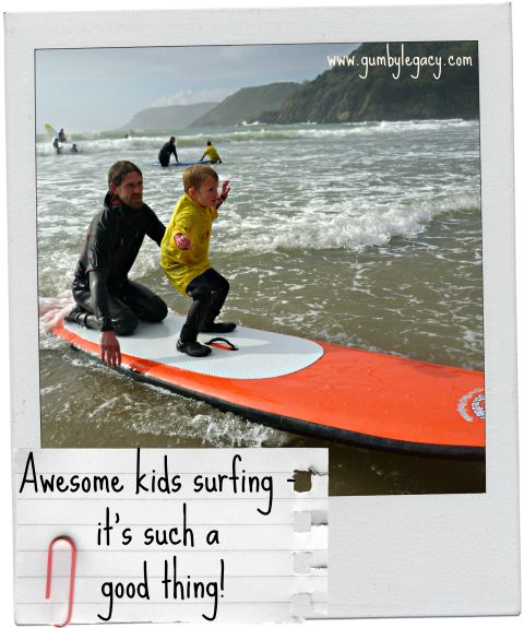 How kids with special needs  benefit from and enjoy surfing. This is an update on Gumby Legacy's involvement in helping it happen.