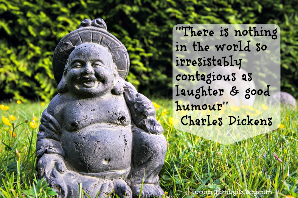 Having a laugh is beneficial for your mental and physical well-being