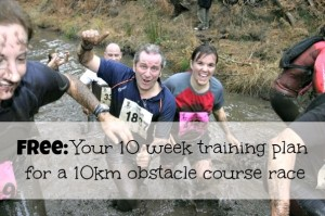 10 week training plan for a 10km obstacle course race