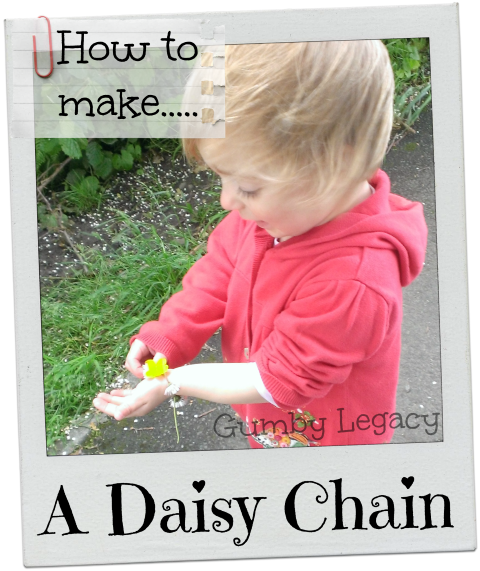 How to make a daisy chain - step by step