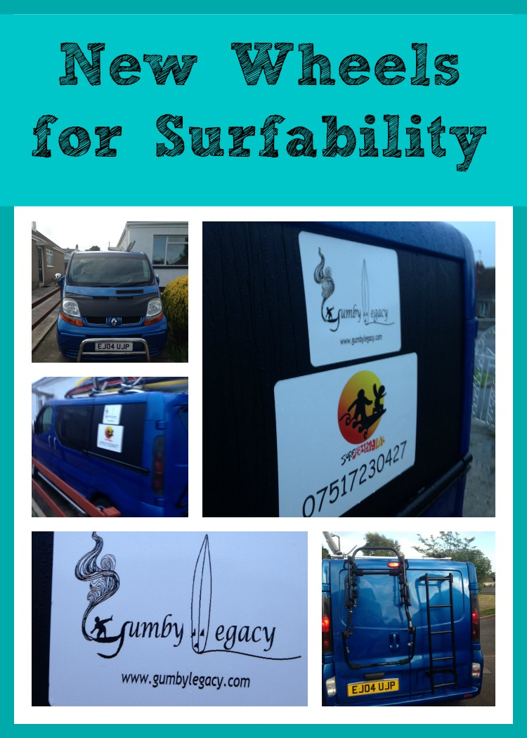 Gumby Legacy and Surfability UK working together for children with additional needs to be able to access the benefits of surfing