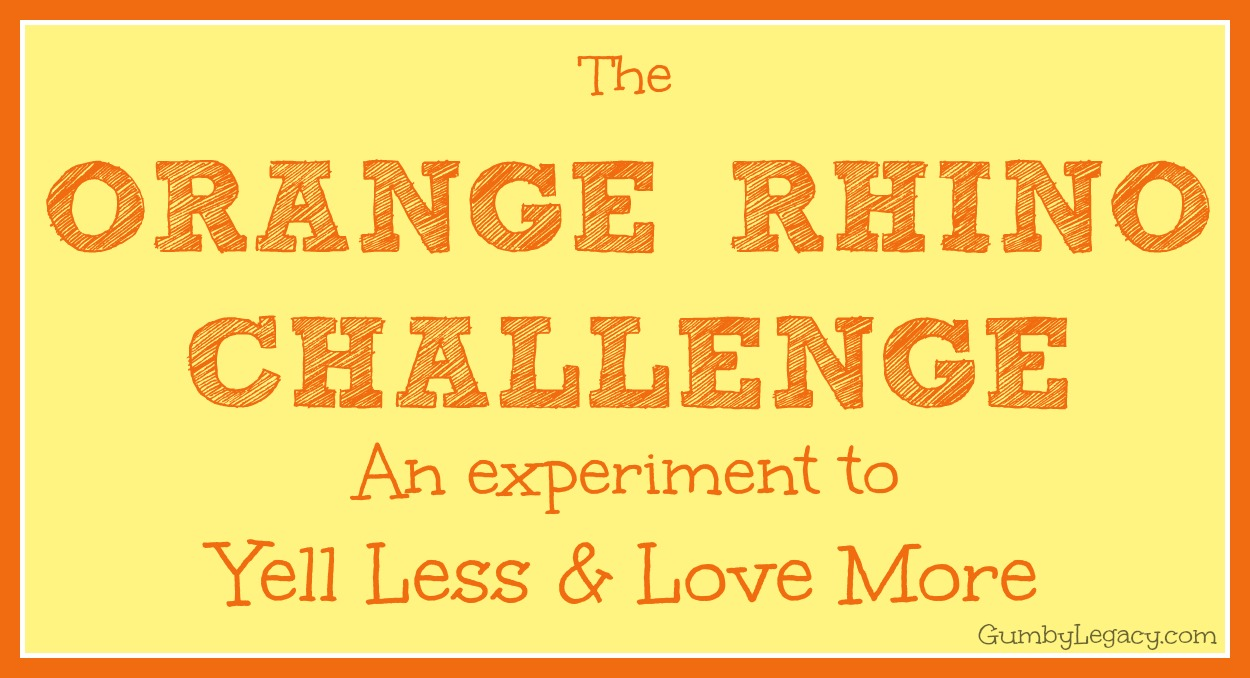 orange rhino challnege